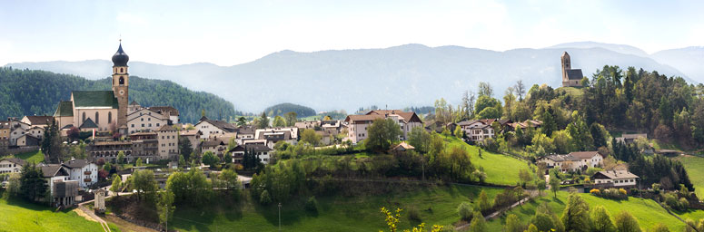 Panorama of Fiè allo Sciliar