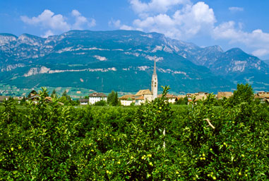 Egna, in South Tyrol's South