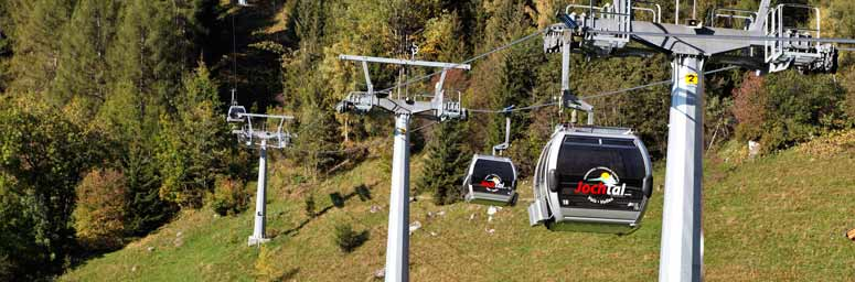 Lifts in the Gitschberg Jochtal holiday region