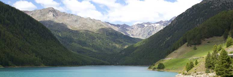 Vernago lake in Val Senales