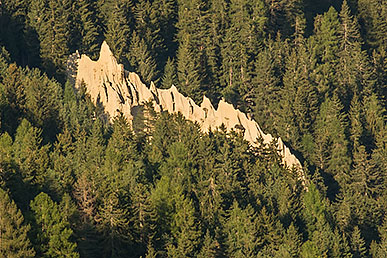 The Earth Pyramids of Perca