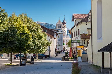 Streets in San Candido