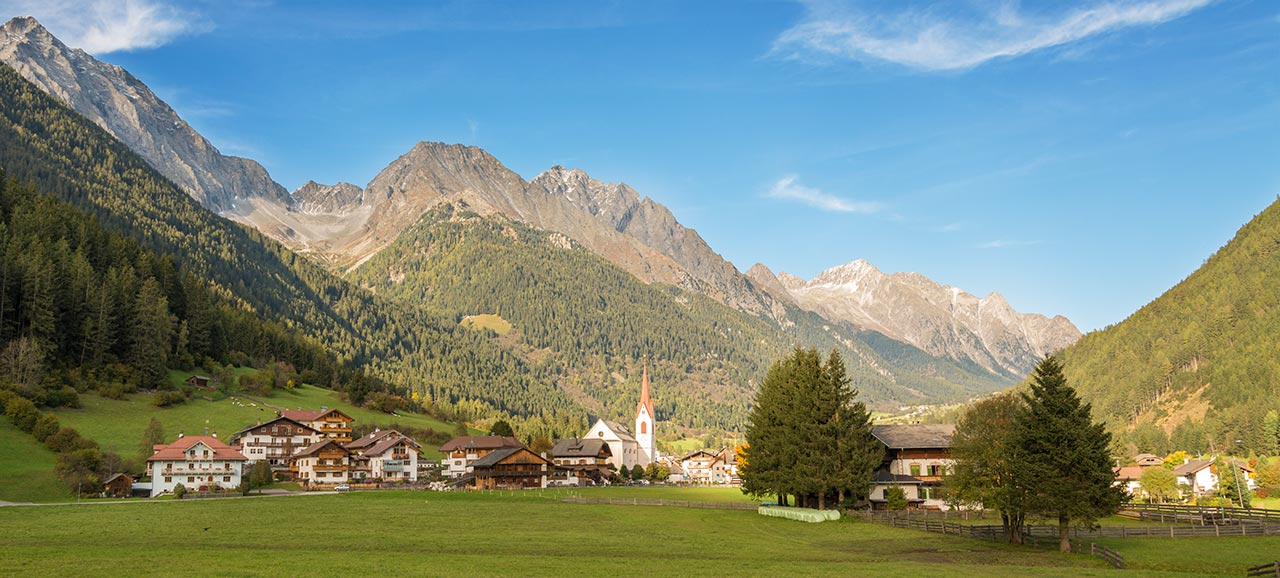 The town of Anterselva