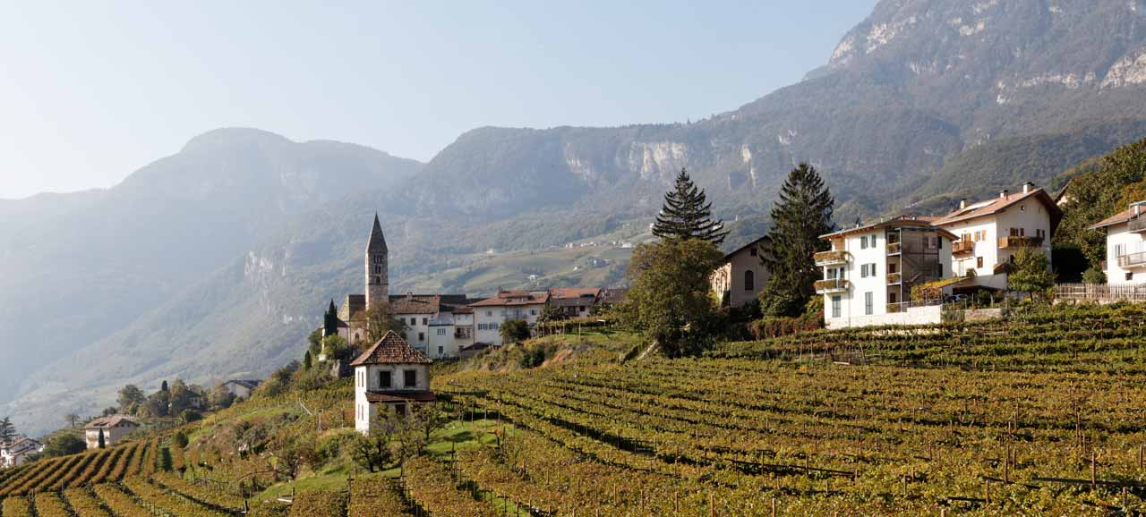 Cortaccia, a South Tyrolean wine village with a long tradition