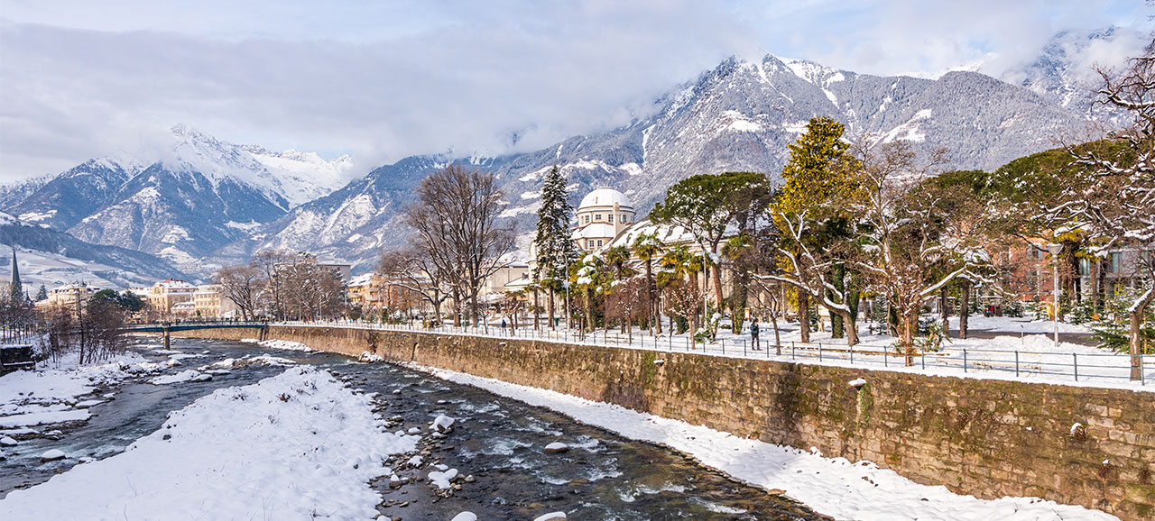 Winterzeit in Meran