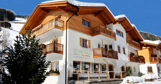 D'inverno in Val d'Ultimo nel Familyhotel & Residence St. Nikolaus