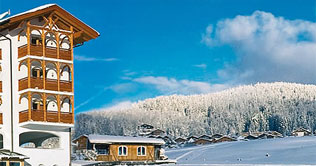Winter in Meransen im Hotel Alpenfrieden
