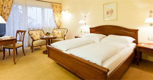 Free bedrooms in Merano at the Hotel Aster