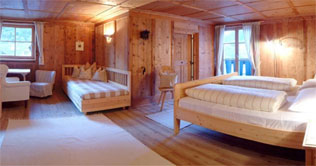 Suite im Alpenstyl in Sand in Taufers