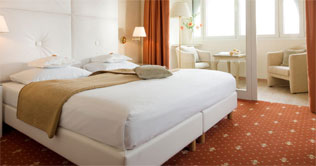 Picture of a suite of the Hotel Golserhof at Merano