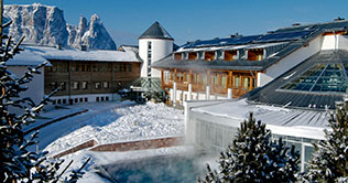 5 star Hotel Urthaler on the Alps of Siusi
