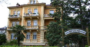 Hotel Westend is located in the spa town of Merano