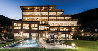 Das Ambiente im Natur Aktiv Hotel Lamm in Taufers in Münstertal