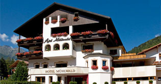 Hotel Mühlwald in the Tures and Ahrn Valley