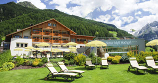 Hotel Natur Idyll Hochgall in Rein in Taufers