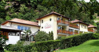 Hotel Rierhof at Chiusa in Isarco valley
